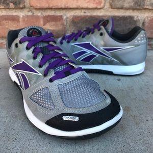 Reebok Nano 2 Crossfit Shoes Mens Size 6 Gray